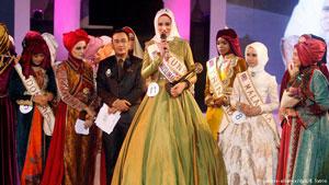 انتخاب دختر شایسته جهان اسلام