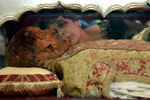 بازدید میلیونی از بقایای مبلغ اسپانیایی