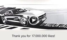 ویدئویی برای بزرگداشت ۱۷ میلیون طرفدار صفحه فیسبوک مرسدسبنز!