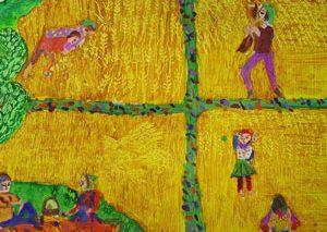 نشان و دیپلم افتخار برای کودک نقاش ایرانی