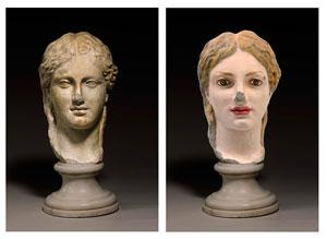 بازسازی مجسمههای کمرنگ شده رم باستان