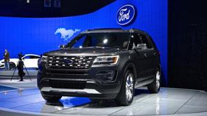 ۲۰۱۶ Ford Explorer به صورت خودکار پارک میکند!