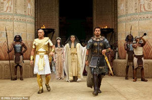 «اکسودوس: خدایان و پادشاهان» برای انتخاب نژاد پرستارانه بازیگرانش مورد انتقاد قرار گرفت