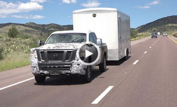 روش جالب تبلیغ اتومبیل باری جدید شرکت نیسان + ویدیو