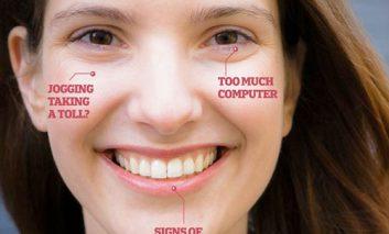 صورت شما بیماریهای شما را آشکار میکند!