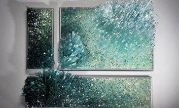 «باد و آب»؛ جادوی شیشهگری