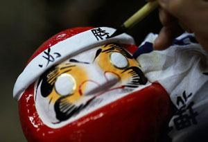 معرفی عروسکهای سنتی: «داروما» از چین
