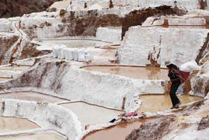 معدن نمک در پرو