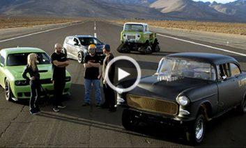 مسابقه شگفتانگیز چهار اتومبیل قدیمی!