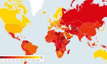 شاخص فساد بینالمللی ۲۰۱۴؛ بهبود رتبه هشت پلهای ایران