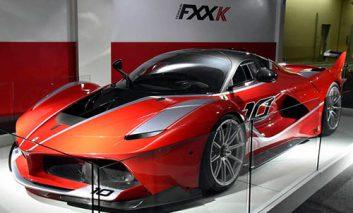 فراری FXX K سه میلیون دلاری تمام شد!