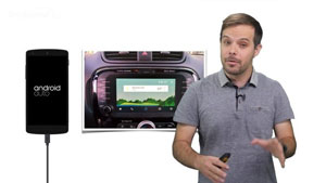 معرفی Android Auto برای اتومبیلها + ویدیو