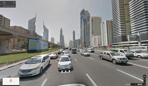 «دوبی» اولین شهر دنیای عرب «Google Street View»