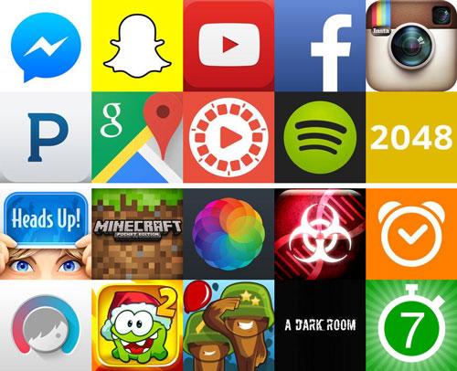 پردانلودترین اپلیکیشنهای آیفون و آیپد در سال ۲۰۱۴
