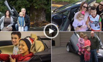 روحیهبخشی به کودکان بیمار با اتومبیلهای شگفتانگیز!  + ویدیو