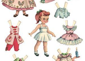 معرفی عروسکهای سنتی: «عروسکهای کاغذی» از انگلستان