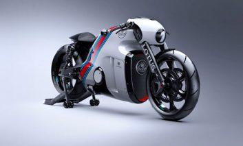 یک موتورسیکلت ۱۳۰ هزار دلاری!