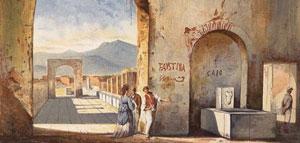 رومیان باستان شهر پمپی هم هنر خیابانی را دوست داشتند
