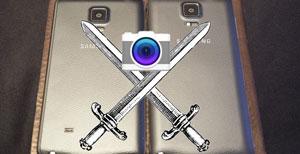 چشم در برابر چشم: مقایسه دوربین سامسونگ Galaxy Note 4 و Note Edge + ویدیو
