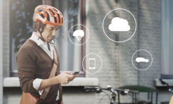 ایده جدید ولوو در کلاه ایمنی دوچرخه + ویدیو