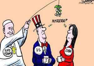 آشتی کوبا و آمریکا