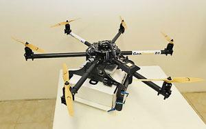 ارسال محمولههای پستی فرانسه در مناطق دورافتاده توسط روباتهای پرنده