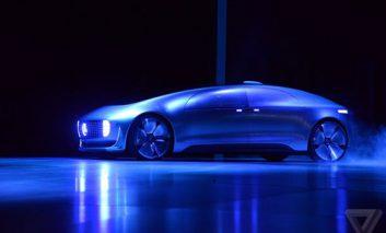 رونمایی از اتومبیل مرسدس-بنز F 015 در نمایشگاه CES
