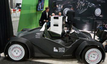 اولین اتومبیلی که با چاپ سهبعدی در نمایشگاه دیترویت ساخته شد!