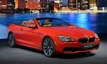 رونمایی از اتومبیلهای جدید BMW سری ۶ در دیترویت + ویدیو