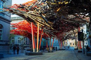 پایین کشاندن اثر هنری ۴۰۰،۰۰۰ یورویی در بلژیک