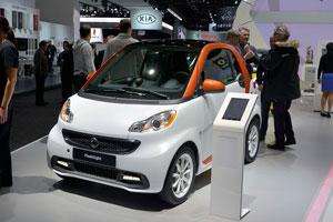 معرفی مدل جدید اتومبیل دونفره Smart Fortwo