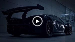 تیزر تبلیغاتی McLaren P1 GTR