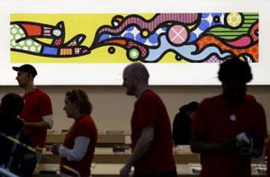 نمایندگیهای اپل نمایشگاه آثار هنری میشوند