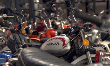 موزهای از موتورسیکلتهای هوندا + ویدیو