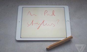آیا اپل در حال ساخت یک iPad Pro با قلم است؟