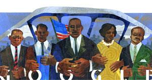 بزرگداشت گوگل از «مارتین لوترکینگ»