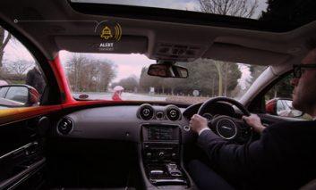 جدیدترین فناوری شرکت Jaguar Land Rover برای افزایش ایمنی + ویدیو