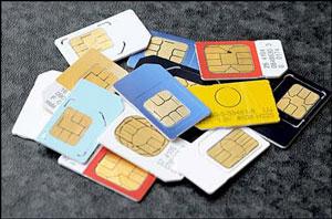 سیم کارتهای تلفن همراه ساماندهی میشوند