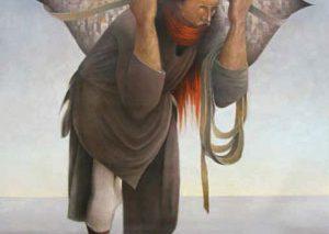 مزایده مشهورترین تابلوی نقاشی فلسطینی