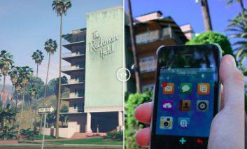 مقایسه تصویری شهر Los Santos بازی GTA با لسآنجلس واقعی