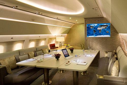 هواپیماهایی که بیشتر شبیه اتاق هتل هستند تا هواپیما!