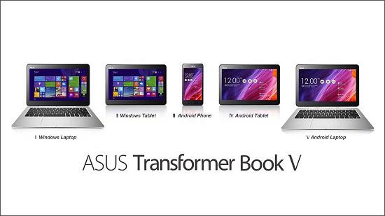 Asus Transformer Book V تلفیقی از همه چیز، اندروید، ویندوز، تبلت، موبایل و لپ تاپ