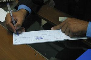 چک بالای ۱۰۰ میلیونی ۳ بانک قابل پذیرش نیست