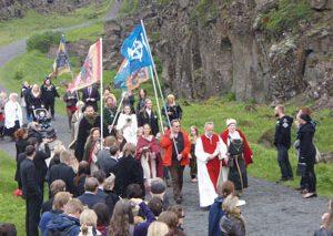 ساخت معبد خدایان اسکاندیناوی در ایسلند