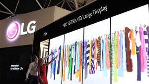 [اعلامیه LG] نمایشگرهای پیشرفته اطلاعرسانی تجاری الجی در ISE 2015