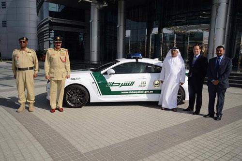بهکارگیری یک اتومبیل فوقسریع دیگر در نیروی پلیس دبی