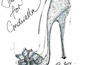 دیسنی کفشهای الهام گرفته شده از کفشهای بلورین سیندرلا را عرضه میکند