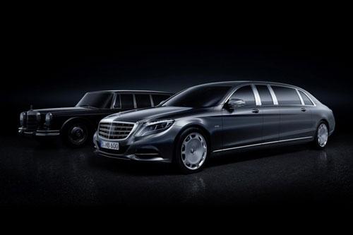 یک اتومبیل ۵۶۶ هزار دلاری از Mercedes-Maybach