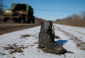 چوب زدن زاغ سیاه مردم در کشورهای دیگر: جنگ در اوکراین