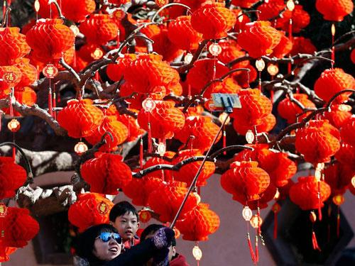 سال نوی چینی به روایت عکس